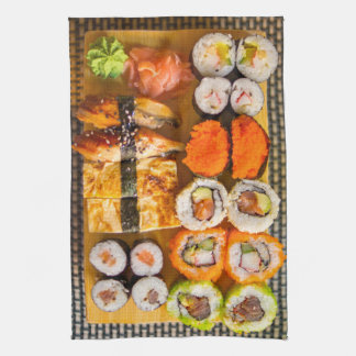 Sushi kitchen towel