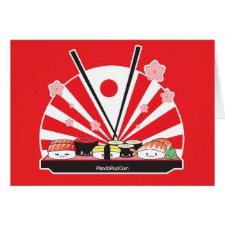 Sushi Land card