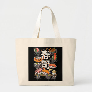 Sushi Large Tote Bag