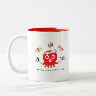 sushi lover 11 oz. White Mug