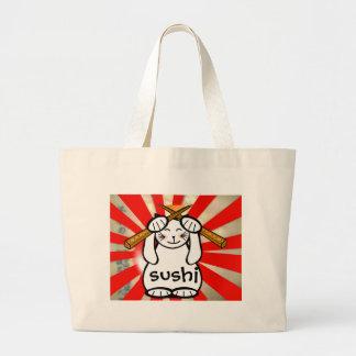 Sushi Maneki Neko Tote