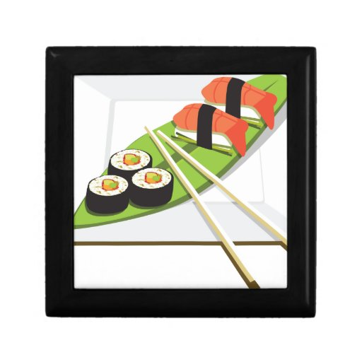 Sushi Meal Keepsake Box