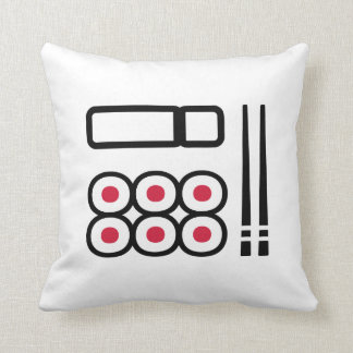 Sushi menu cushion