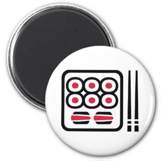 Sushi menu magnets