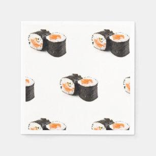 Japanese Sushi Napkins | Zazzle co uk