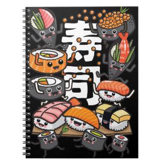 Sushi Notebooks