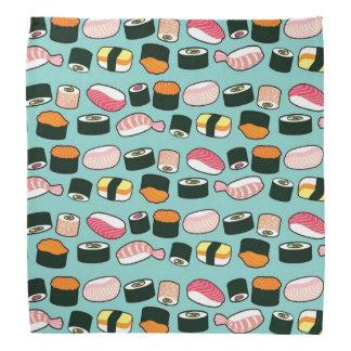 Sushi Oishii (Blue) Bandanas