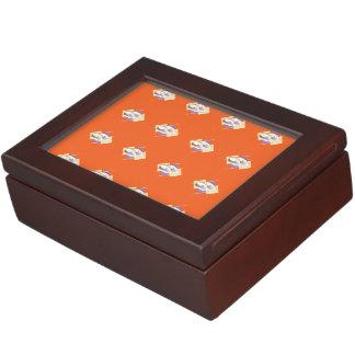 Sushi orange memory boxes