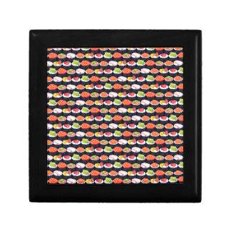 Sushi pattern keepsake boxes