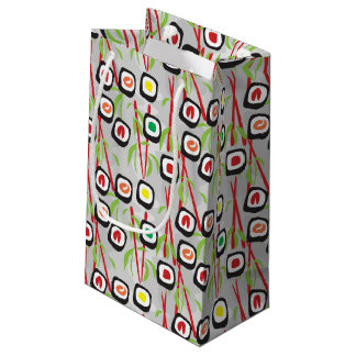 Sushi Pattern Small Gift Bag