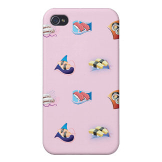 sushi pink case for iPhone 4