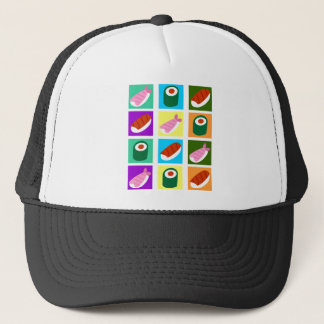 Sushi Pop Art Trucker Hat