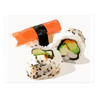 Sushi Post Card