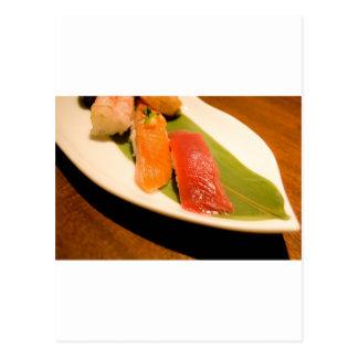 Sushi. Post Card