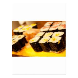 Sushi. Postcards