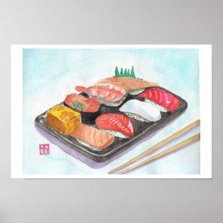 Sushi print
