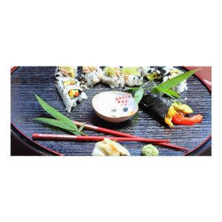 Sushi Rack Card Design