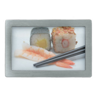 Sushi! Rectangular Belt Buckle