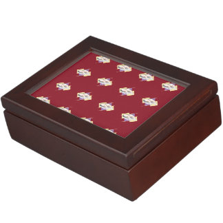 Sushi red memory boxes