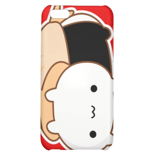 Sushi Roll Bunny iPhone 4 Case
