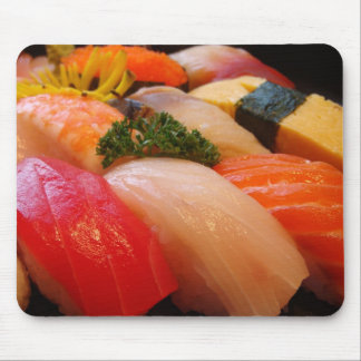 Sushi roll sashimi top foodie chef hipster photo mouse mat