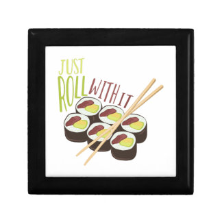 Sushi Roll Small Square Gift Box