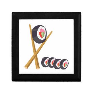 Sushi Rolls Keepsake Box