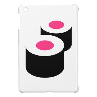 Sushi rolls iPad mini cases