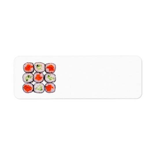 Sushi Rolls Japanese Food Template