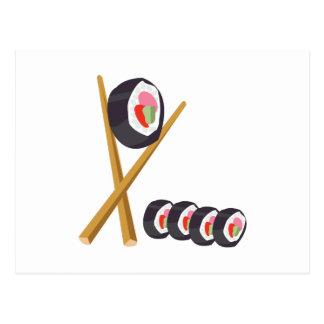 Sushi Rolls Postcards