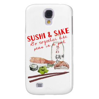 'Sushi & Sake' Galaxy S4 Case
