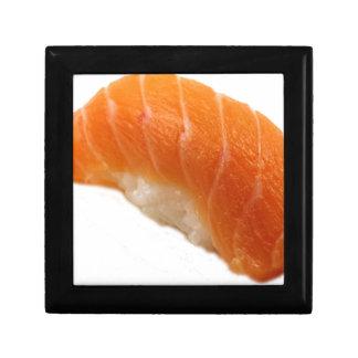 Sushi Salmon nigiri Small Square Gift Box