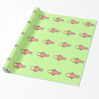 Sushi Salmon Wrapping Paper