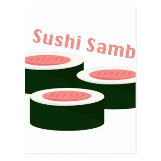 Sushi Samba Postcard