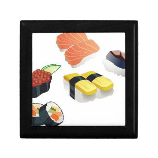 Sushi Small Square Gift Box
