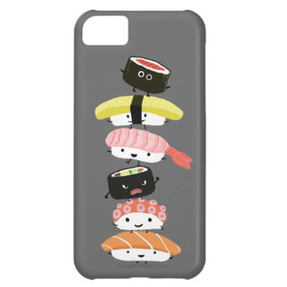 Sushi Stack - A Kawaii Tower of Sushi Characters iPhone 5C Case