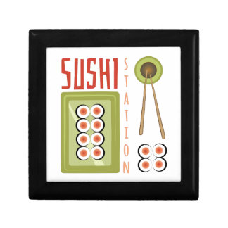 Sushi Station Small Square Gift Box