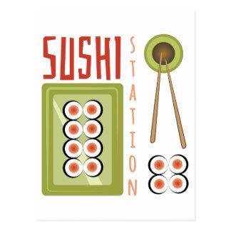 Sushi Station Postcard