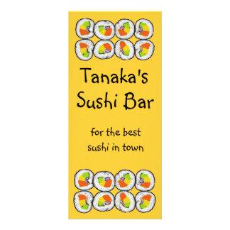 Sushi Sushi Rack Card