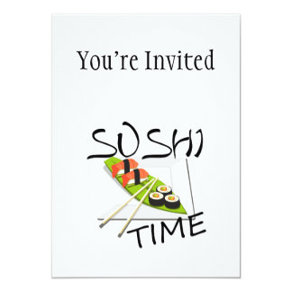 Sushi Time Card