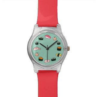 Sushi Time! Funky (Mint) Wristwatch