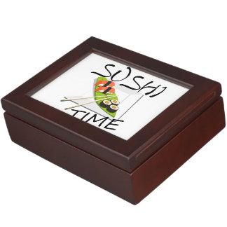 Sushi Time Keepsake Boxes