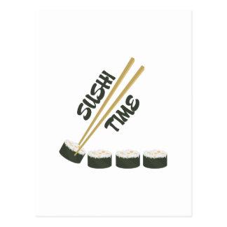 Sushi Time Postcard
