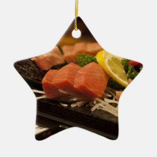 Sushi Time Tuna Tuna Party Fish Food Christmas Ornament