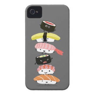 Sushi Tower - Kawaii Sushi Friends Case-Mate iPhone 4 Case