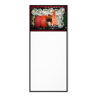 Sushi Tray Custom Rack Card