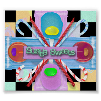 Susie's Sweets Poster