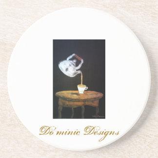 Suspended Teapot ll Beverage Coaster