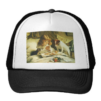 Suspense, Saying Our Prayers Charles Burton Barber Hats
