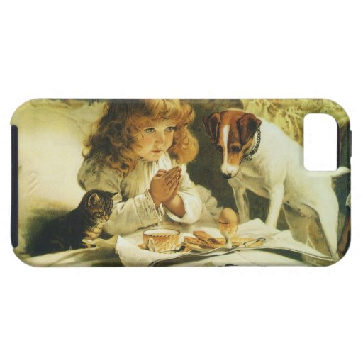 Suspense, Saying Our Prayers Charles Burton Barber iPhone 5 Cover
